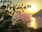 Tramonto isole Eolie