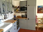 The Kitchen is completely renovated and fully equipped to make great meals.
