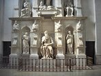 Moses by Michelangelo, in Saint Peter in Vincoli, close to home