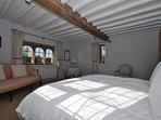 Double bedroom, the tower block