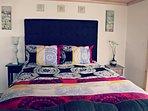 Queen bed on main floor