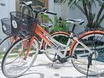 Complimentary pushbikes for Villa Sapa guests