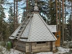 Lapland style hut