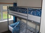 Bedroom 2; 2 x Bunk Beds with Adult Mattresses