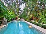 Pool, Spa, Sun Deck, and Monkeys