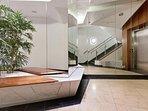 Front lobby/lift