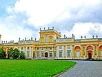 From the closest bus stop every 10 min.you can catch bus to the Wilanów Palace -16 minutes ride