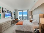 Master Bedroom with cruise ship type ocean views from the bed...awesome
