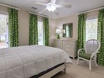 Guest bedroom with queen bed!