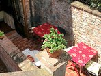 our small terrace