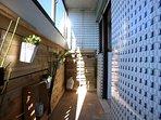 balkony coveres in 60´tiles