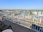 Enjoy the views of Madeira Beach, Johns Pass or walk to Mad Beach Fish House