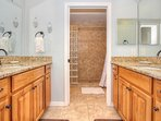 Sea Breeze 608 offers a master bathroom retreat made for your ideal vacation