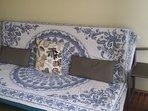 Sofá-cama 1.50 por 2 m