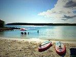 A great time at Carracas beach