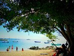 A typical day in Esperanza on the south side of Vieques