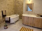 Master bath room with JAGUZZI and shower