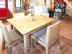 kitchen, dining room Fairytale wooden house near Ljubljana