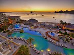 Los Cabos resort pool area and beautiful beaches.