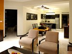 Spacious area to bring family and friends.