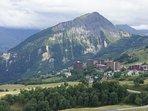 Station Le Corbier 1550 m d'altitude