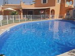 Private big pool (15X10 meters) available for guests.