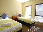 Third Bedroom - two long single beds