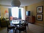 Ocean Club living/dining room