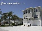 Alecassandra Vacation Villas on Anna Maria Island, Florida  FAMILY REUNION LOCATION