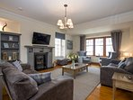 Enjoy the luxury of the upstairs lounge and the panoramic views over the Moray Firth.