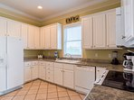 You will LOVE the open feel of this kitchen!