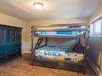 Bedroom 4 - Queen/Queen Bunk w/ Full Trundle