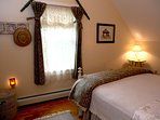 2nd flr. river BR offers up a sumptuous bed and a delightful river view ~ prepare for great sleep!