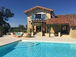 Luxury Farmhouse and 14m swimming pool. Probably the best pool in Gascony!