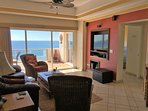 Beautiful View - Large Smart TV - DVD & Surround Sound Speakers! MAGIC JACK PHONE - Free Calling to/from United States...