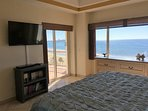 View of the Sea of Cortez & Lights of Rocky Point from the Guest Bedroom! Smart TV & DVD Player!