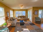 Nicely decorated living area where you will relax after vacation days.