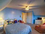 Third bedroom has queen size bed and TV. Beds will be made when you arrive.