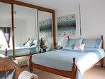 Room 2 Sleeps 2 with large en suite bathroom and mood lighting, drinks and nibbles in room wi-fi tv