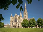 Visit our medieval City of Salisbury and the Cathedral. It's just 20 minutes away.