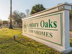 Our safe and secured exclusive Century Oaks complex with gated access