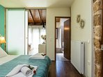 Master bedroom and the entrance of the single bedroom, perfect layout for family