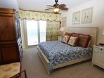 Master with King Bed and Gulf Views
