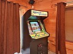 Arcade Game equipped with 64 FREE PLAY games like PacMan, Galaga, Centipede, etc