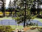 Tennis Courts (open mid May to mid Oct)