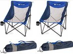 We provide 2 portable beach chairs for your use