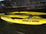 Take out one of our new Hybrid SUP board kayaks.