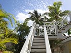 Stairs to Sundeck