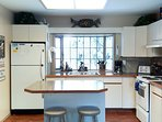 Fully Furnished Kitchen with Loads of Cabinets for Storage