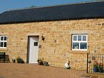 Nelly,s Cottage over looking the dales.plenty of parking good access from the main A689